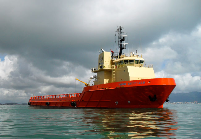 Thor Supplier, 280′ Platform Supply Vessel