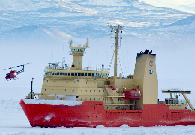 Nathaniel B. Palmer, 308′ Ice Capable Research Ship